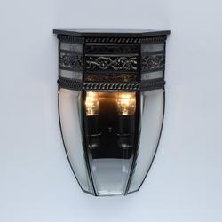 Kinkiet z czarnego mosiądzu zewnętrzny ip44 corso street chiaro 801020702