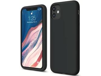Etui silikonowe alogy slim case do apple iphone 11 czarne