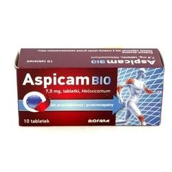 Aspicam bio 7,5mg x 10 tabletek
