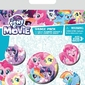 My Little Pony Movie Friendship Blooms - przypinki