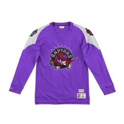 Koszulka z długim rękawem mitchell  ness nba toronto raptors - lnsldf18022-trartpr