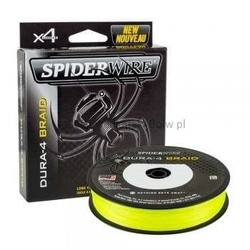 Plecionka spidewire dura 4 yellow 0,12mm150m