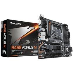 Gigabyte Płyta główna B450 AORUS M AM4 B450 4 DDR4 DVIHDMIM.2 uATX
