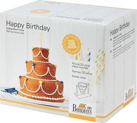Forma do ciasta happy birthday 3d birkmann