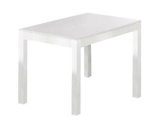 Stół rozkładany marena 118-156x76 cm biały