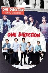 1D One Direction - Zespół - Wzmacniacze - naklejka