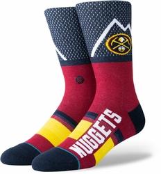 Skarpety Stance NBA Denver Nuggets Shortcut - M545C19NUG