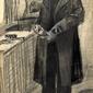 Man polishing a boot, vincent van gogh - plakat wymiar do wyboru: 30x40 cm