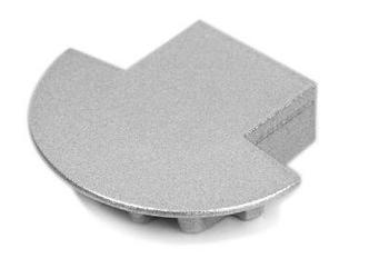 Zaślepka do profilu MICRO - K - metalizowana