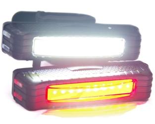 Oświetlenie rowerowe top-light se-rw dioda cob - przód lub tył