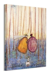 Bluebell daze - obraz na płótnie