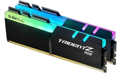 G.SKILL DDR4 32GB 2x16GB TridentZ RGB 3200MHz CL14-14-14 XMP2