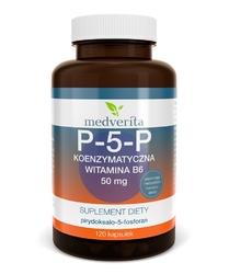 WITAMINA B6 P-5-P koenzymatyczna 50 mg 120 kapsułek