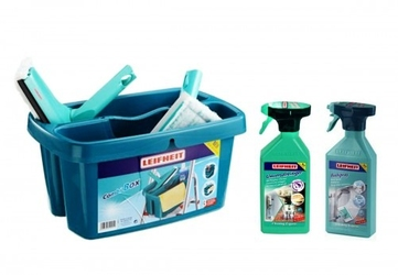 Zestaw do mycia okien i łazienki leifheit 52008 starter