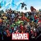 Marvel postacie - plakat