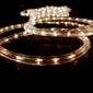 Wąż świetlny 360 mini żarówek, 10 m, ciepły biały