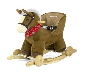 Milly mally polly dark brown koń na biegunach