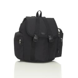 Plecak dla rodziców storksak travel - black