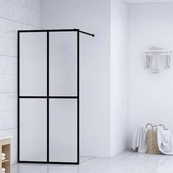 Vidaxl ścianka prysznicowa, szkło hartowane, 118 x 190 cm