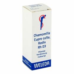 Chamomilla Cupro culta Radix Rh D 3 Dil.