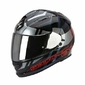 SCORPION KASK EXO-510 AIR STAGE BLACK-SILVER-RED
