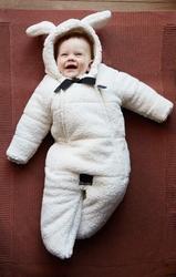 Kombinezon dziecięcy 6-12m, shearling, elodie details - shearling || shearling