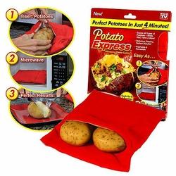 Rękaw kieszeń do pieczenia ziemniaków w mikrofalówce -