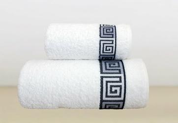 Ręcznik DUNAJ Greno biały - biały