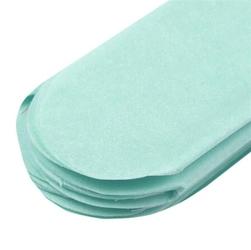 Papierowy pompon 15 cm -błękitny - BŁĘ