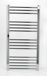 Grzejnik łazienkowy york - wykończenie proste, 600x1000, chromowany