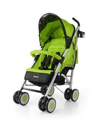 Milly mally meteor zielony wózek spacerowy parasolka + folia + puzzle
