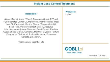 Insight loss control treatment kuracja przeciw wypadaniu włosów 100ml