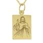 Medalik z żółtego złota wec-z-med-jezus.m-2