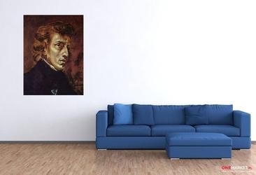 portret fryderyka chopina -  eugène ferdinand ; obraz - reprodukcja