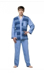 Kuba dżentelmen rozpinana piżama męska