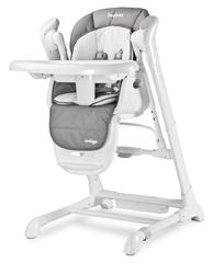 Caretero indigo grey huśtawka krzesełko 2w1 + puzzle