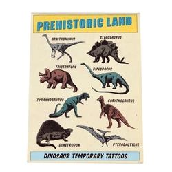 Tatuaże zmywalne dla dzieci, dinozaury, rex london - dinozaury