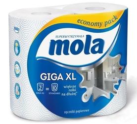 Mola giga xl, ręcznik kuchenny, 2 rolki