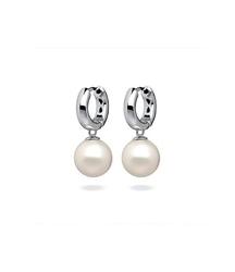 Fc kolczyki wiszące z perłą 3061221006 pm 12 kolor biały