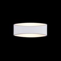 Lampa ścienna owalna, biała, nowoczesny styl trame maytoni modern c806wl-l5w
