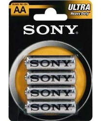 Baterie sony aa r6 blister 4szt. - szybka dostawa lub możliwość odbioru w 39 miastach
