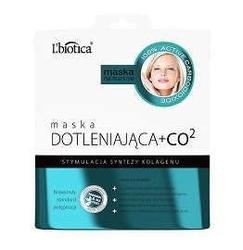 Lbiotica maska dotleniająca + co2 w postaci nasączonej tkaniny 23ml