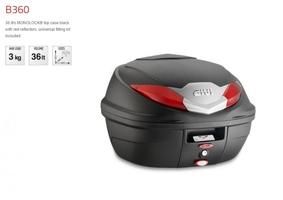 Kufer centralny givi b360n monolock - 36 litrow