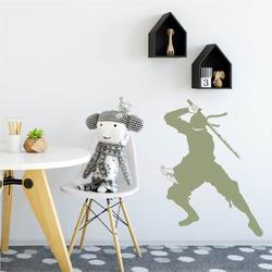 Szablon na ścianę dla dzieci wojownik ninja 2101