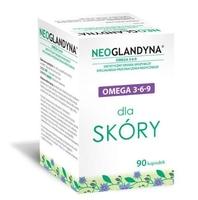 Neoglandyna omega 3-6-9 dla skóry x 90 kapsułek