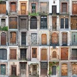 Fototapeta drzwi 155