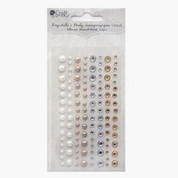 Kryształki i perły samoprzylepne 120szt. - nto