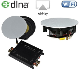 Zestaw Wireless Multi-Room - głośnik 40W + 40W + wzmacniacz