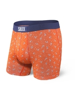 Bokserki męskie saxx ultra boxer brief fly orange palm-fetti