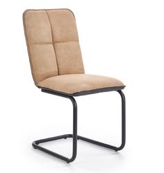 Tapicerowane krzesło na płozach k-268
